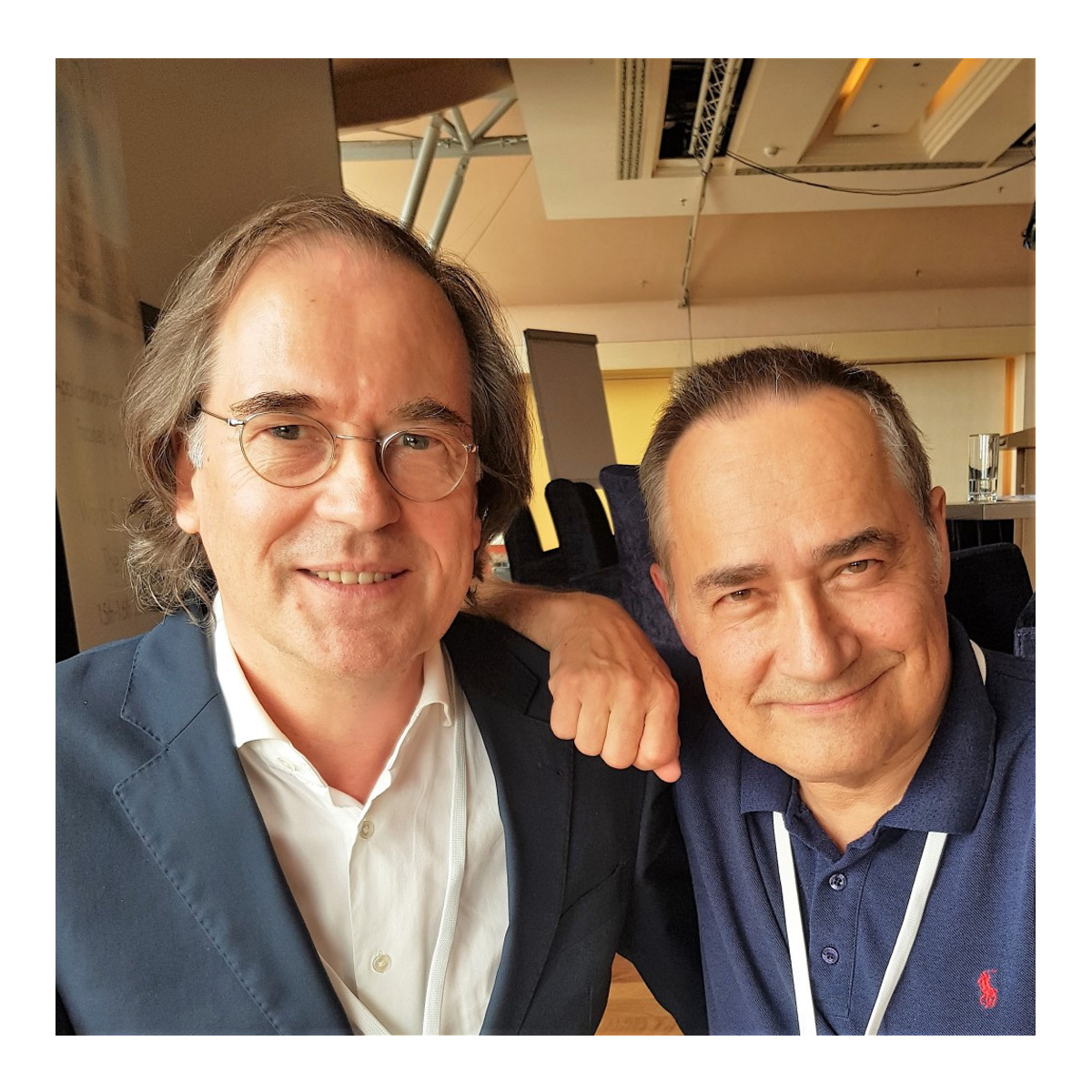 Arnoud Huibers en Ben Furman